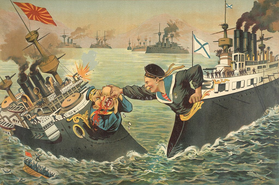 russo-japanesse cartoon