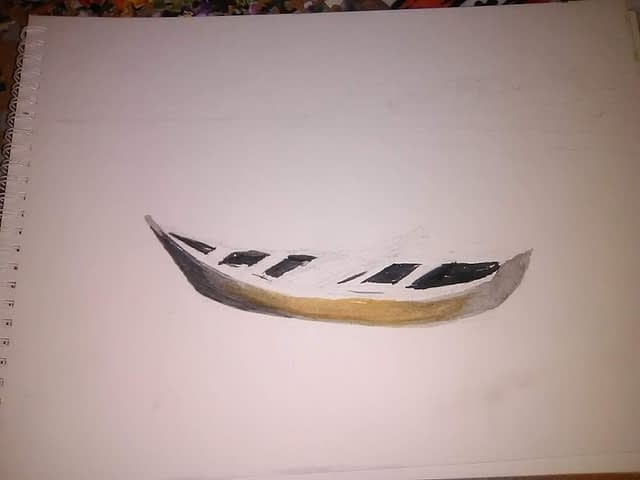Watercolor exercise #5 - step