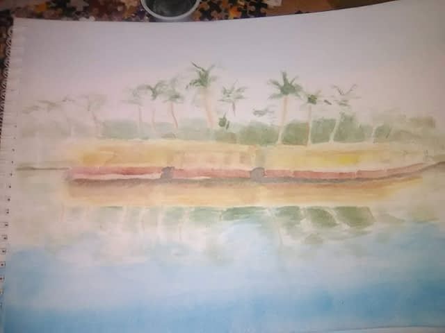 watercolor exercise #6 - step 1