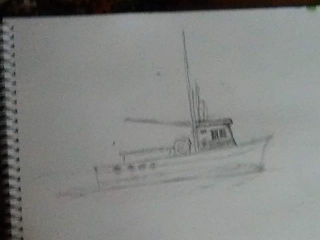 trawler sketch